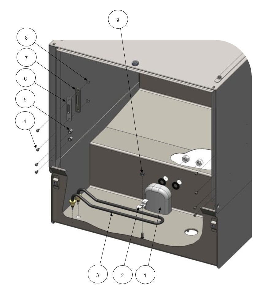 Wash Cabinet - Internal